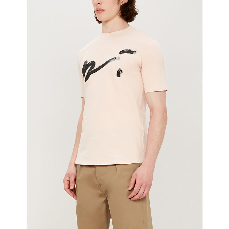 PREVU | Logo-Print Cotton T-Shirt | Goxip