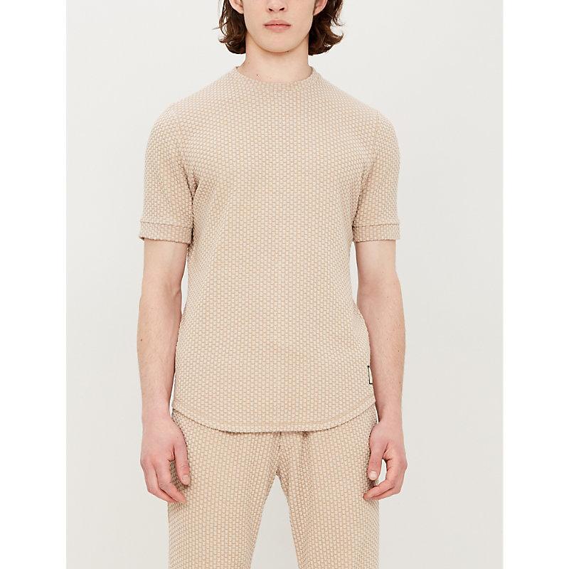 PREVU | Embossed Jersey T-Shirt | Goxip