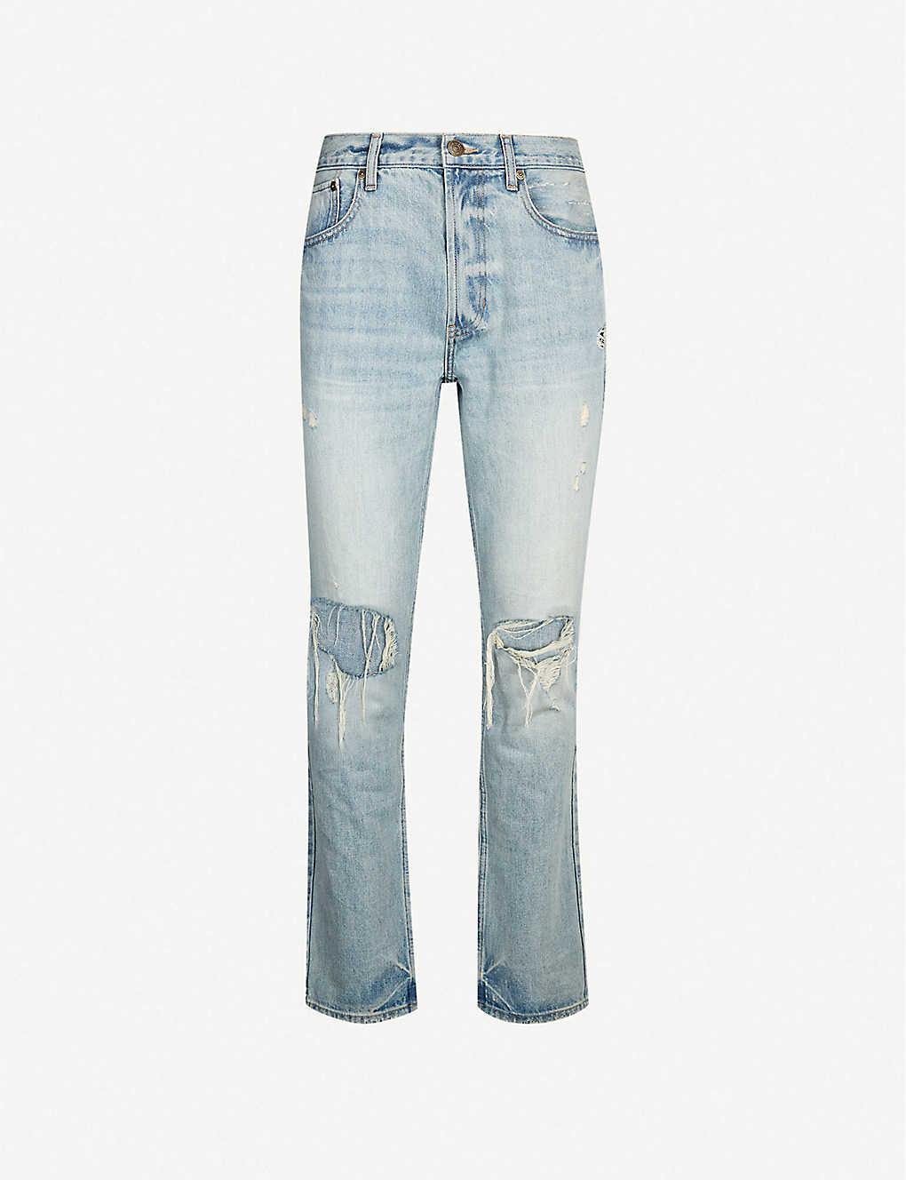 cbd7858160 PACSUN - Destroy slim-fit jeans   Selfridges.com