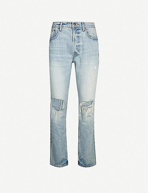PACSUN Destroy slim-fit jeans