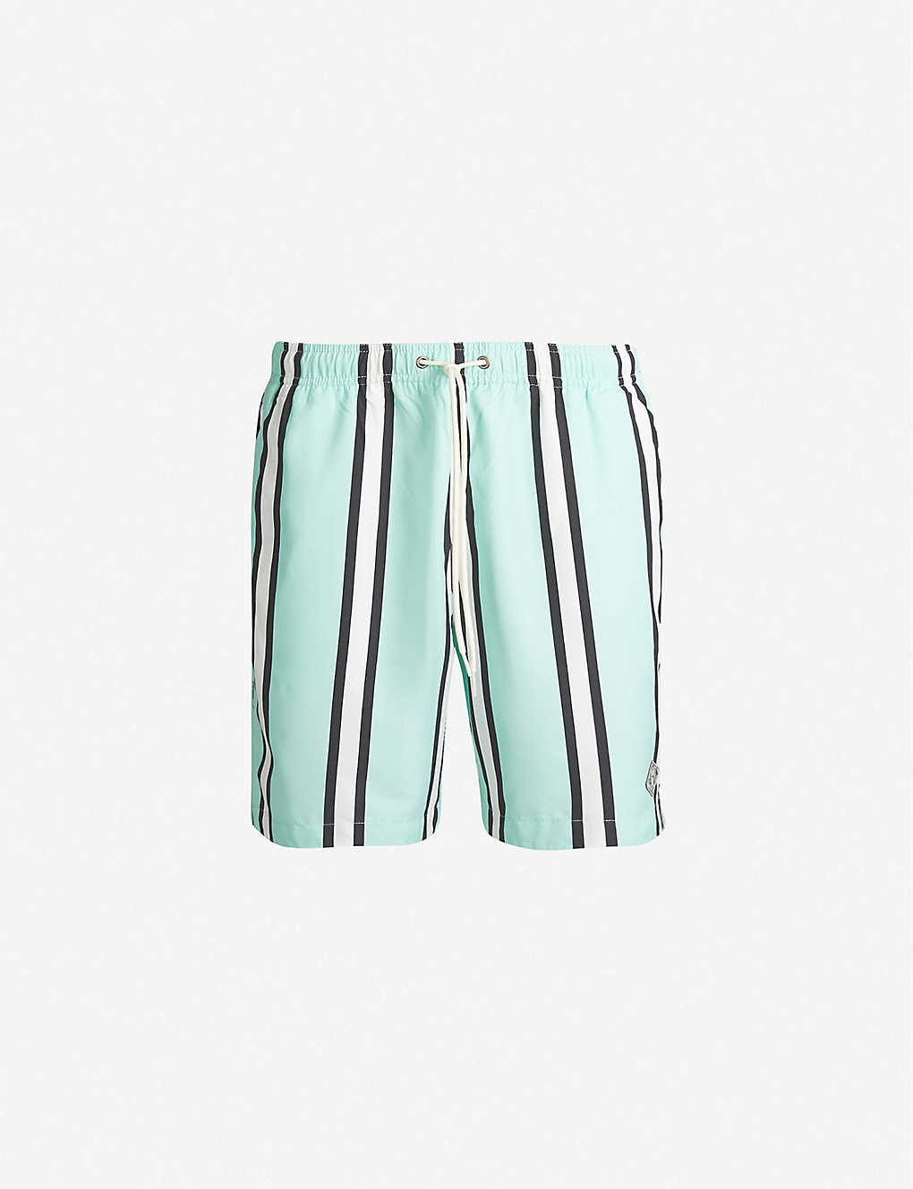 3b127e8de6d PACSUN - Carnie striped relaxed-fit swim shorts | Selfridges.com