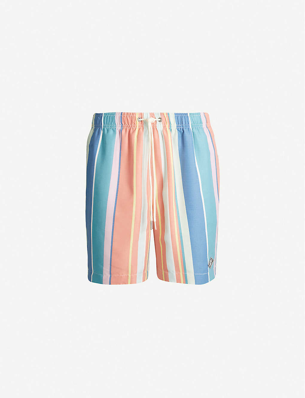 8f007f0490 PACSUN - Breaker striped relaxed-fit swim shorts   Selfridges.com