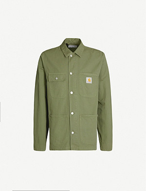CARHARTT WIP Michigan cotton overshirt