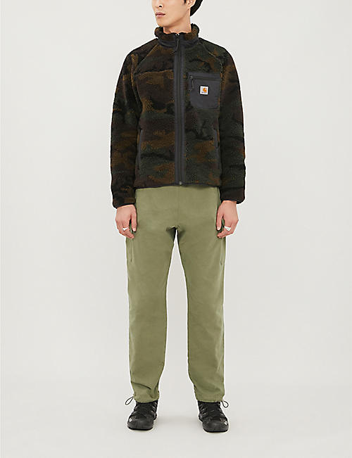 CARHARTT WIP Prentis funnel-neck camo-print fleece jacket