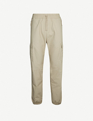 CARHARTT WIP Cargo cotton-twill jogging bottoms