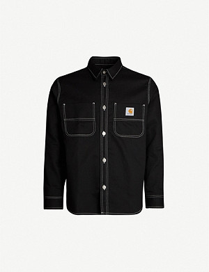 CARHARTT WIP Chalk relaxed-fit cotton-twill shirt