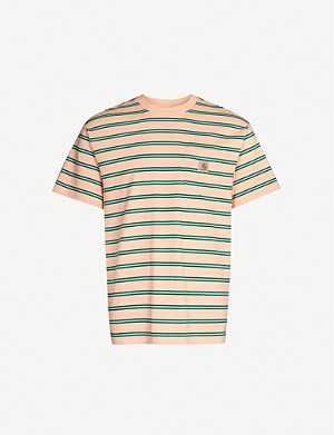 CARHARTT WIP Houston striped cotton-jersey T-shirt