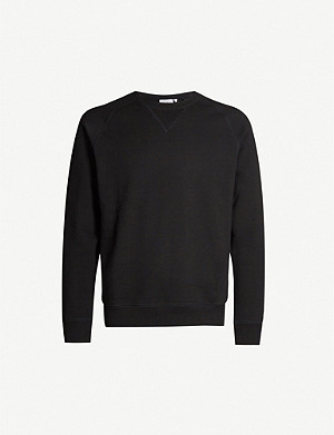 CARHARTT WIP Chase logo-embroidered cotton-blend sweatshirt