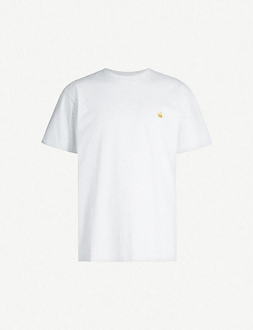 CARHARTT WIP Chase logo-embroidered cotton-jersey T-shirt