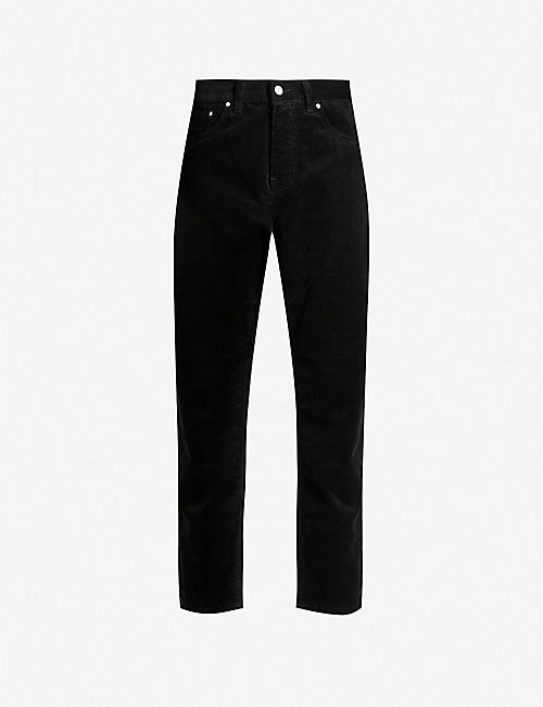 CARHARTT WIP Newel tapered corduroy trousers