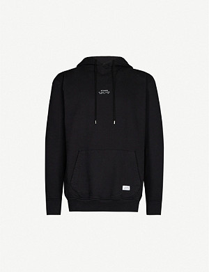 STAMPD Brand-print cotton-jersey hoody