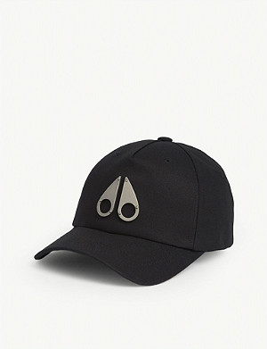 MOOSE KNUCKLES Cotton Icon logo cap