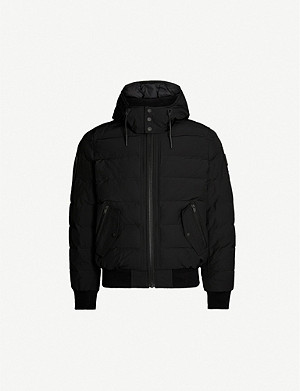 MOOSE KNUCKLES Rocher padded twill-down hooded jacket