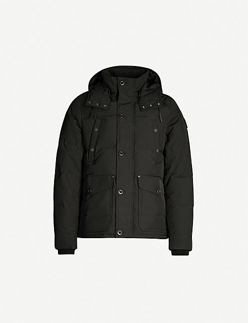 MOOSE KNUCKLES Shippagan twill-down jacket