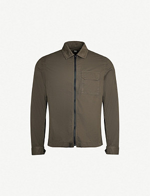 CP COMPANY Patch-pocket cotton jacket