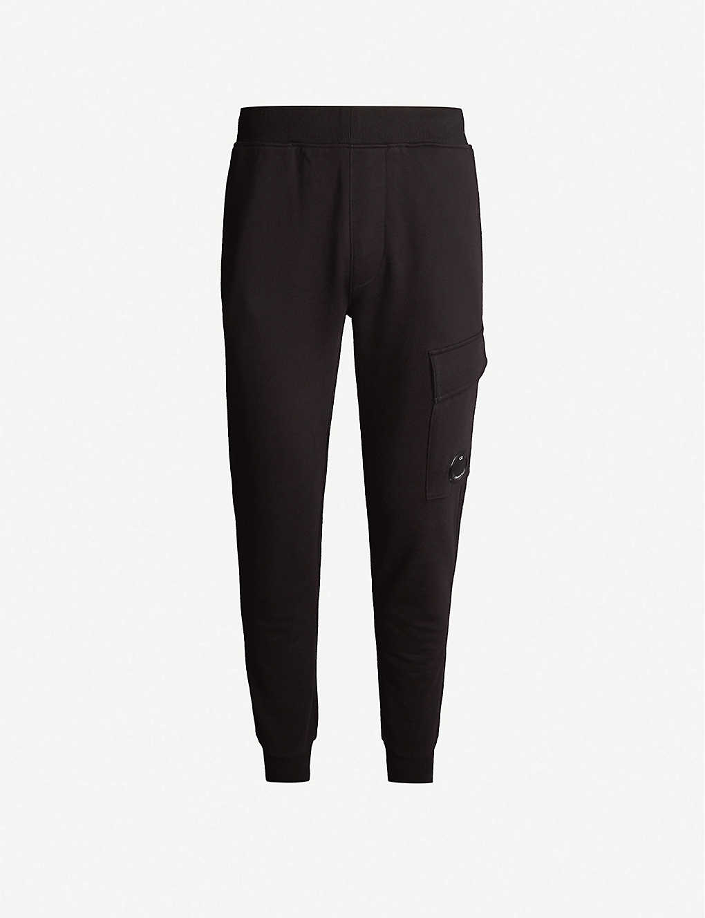 CP COMPANY: Cargo pocket relaxed-fit cotton-jersey jogging bottoms