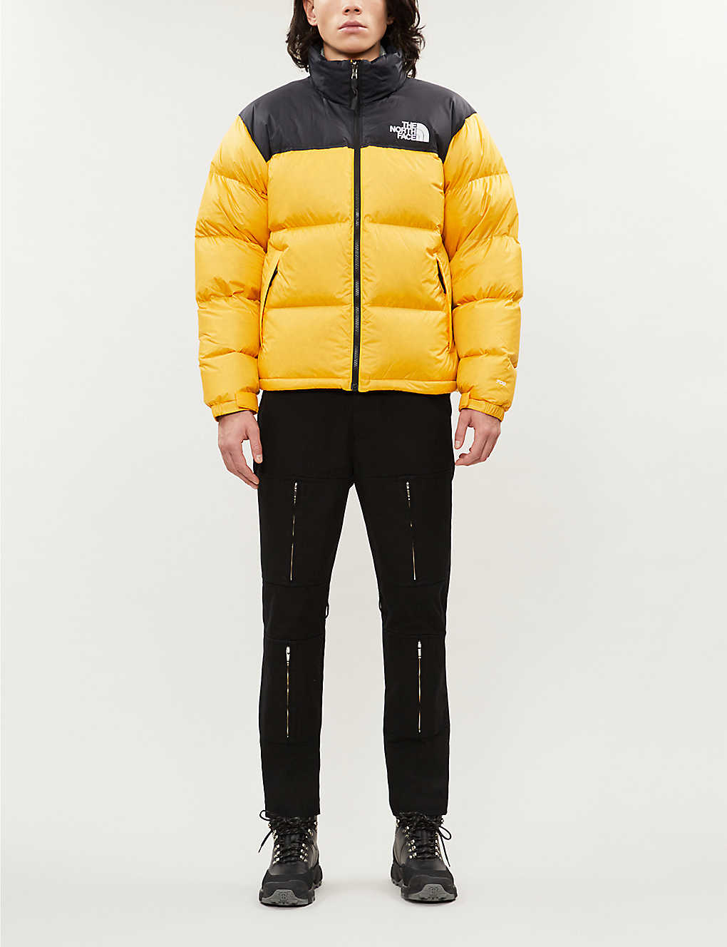 THE NORTH FACE: Nuptse shell and down-blend jacket