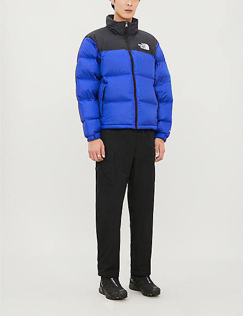 THE NORTH FACE Nuptse shell and down-blend jacket