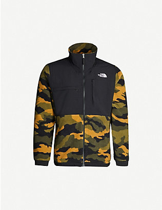 THE NORTH FACE: Camouflage-print fleece jacket