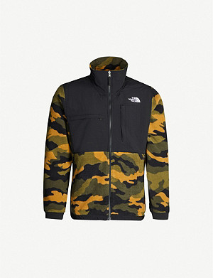 THE NORTH FACE Camouflage-print fleece jacket
