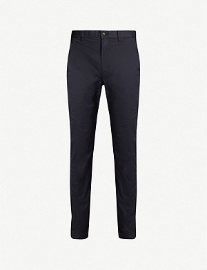 TOMMY HILFIGER Denton regular-fit straight stretch-cotton chinos