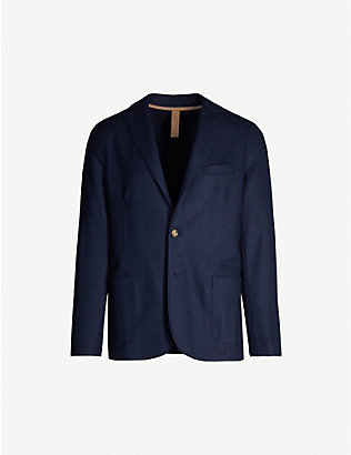 ELEVENTY: Regular-fit wool-blend blazer