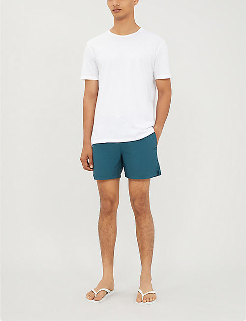 ELEVENTY Colour-blocked swim shorts