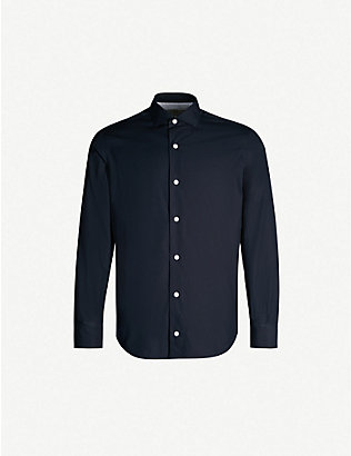 ELEVENTY: Regular-fit cotton shirt