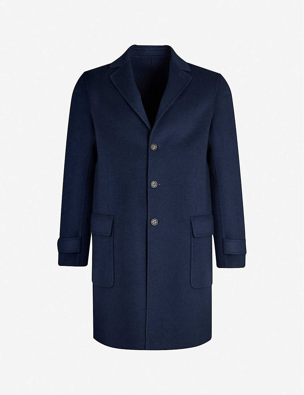 ELEVENTY: Single-breasted cashmere coat