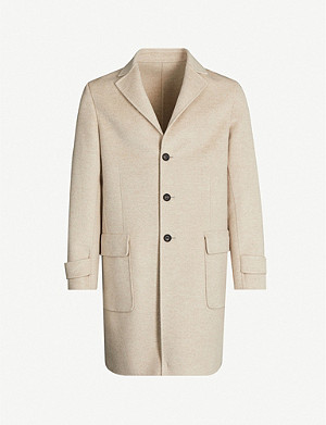 ELEVENTY Single-breasted cashmere coat