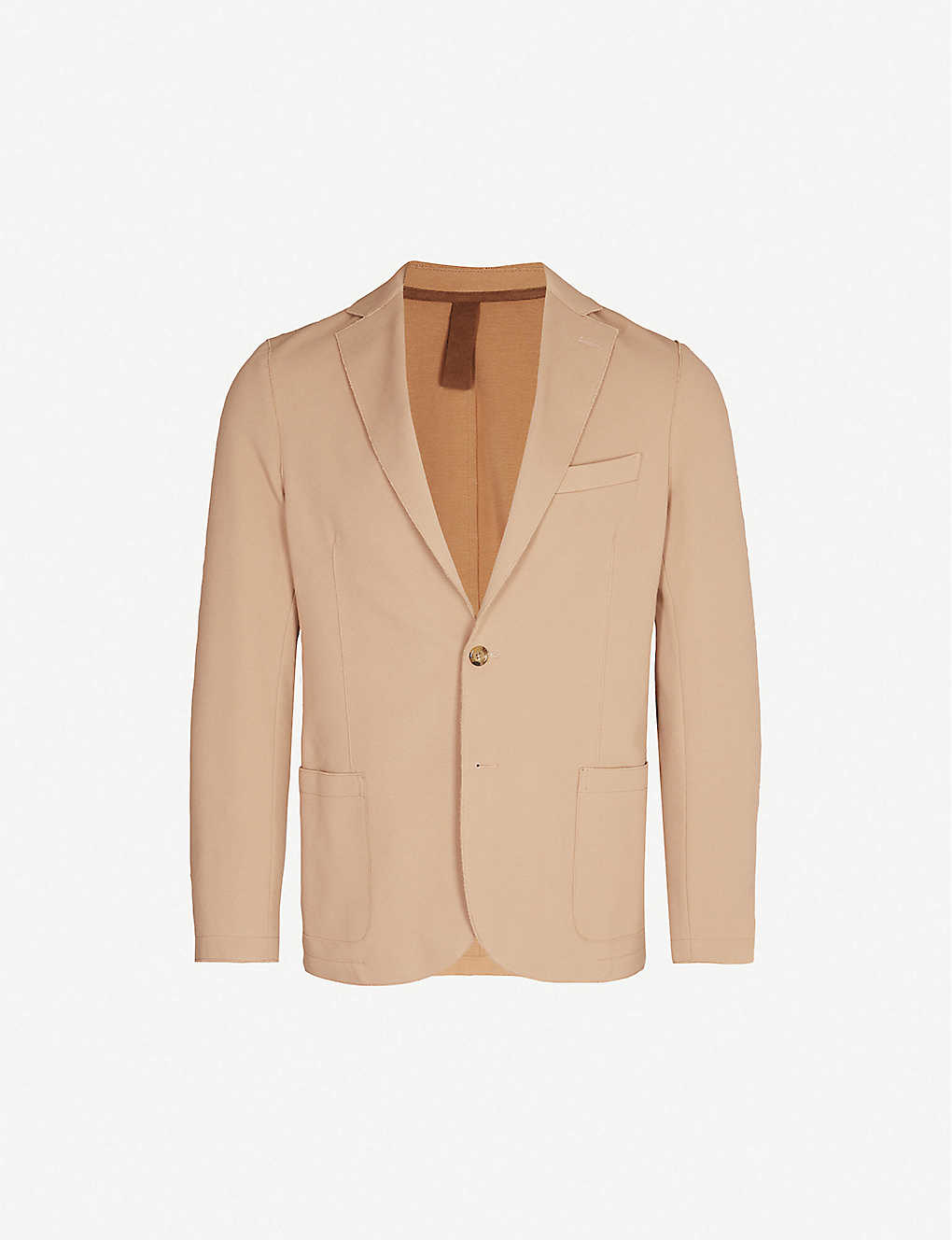 ELEVENTY: Regular-fit pique blazer