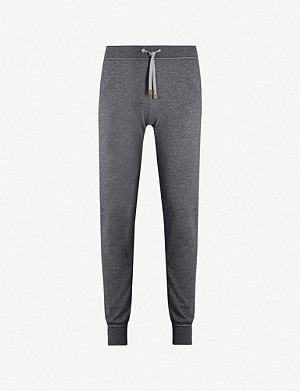 ELEVENTY Mid-rise relaxed wool jogging bottoms