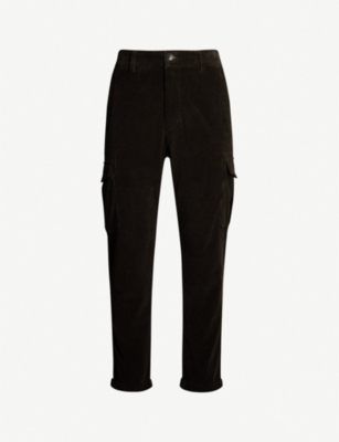 ELEVENTY Regular-fit straight corduroy trousers