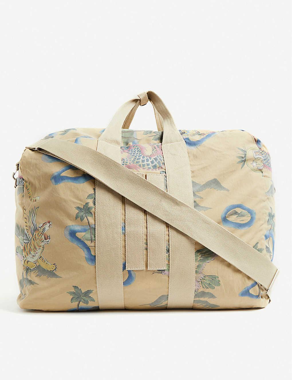 a59ada0620 RRL - Souvenir cotton-canvas duffle bag   Selfridges.com