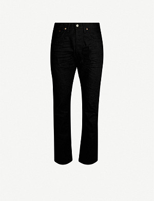 RRL Slim-fit straight jeans