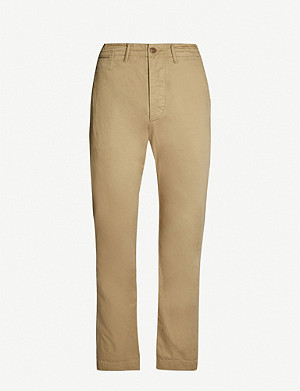 RRL Regular-fit straight cotton chinos
