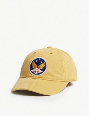 RRL Wing dyed cotton cap
