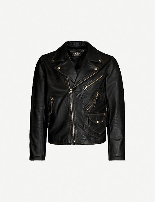 056e64d84 Biker jackets - Coats & jackets - Clothing - Mens - Selfridges ...