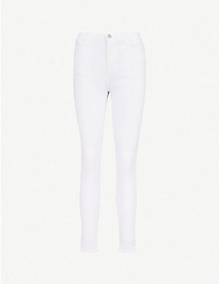 J BRAND: Alana skinny cropped mid-rise jeans