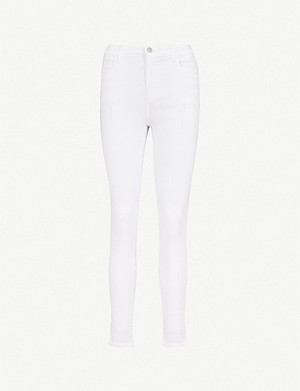 J BRAND Alana skinny cropped mid-rise jeans