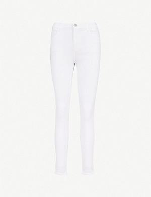 ddbd776977be9 J BRAND - Mama J skinny mid-rise maternity jeans | Selfridges.com