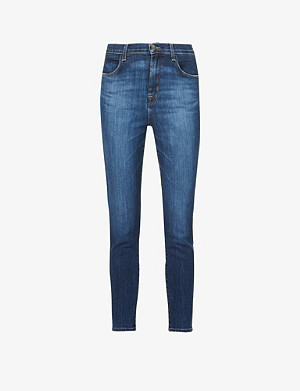 J BRAND Alana cropped skinny mid-rise jeans