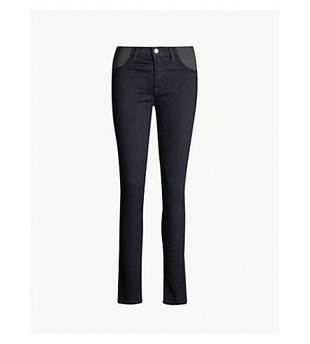 449a5dd4c9bce J BRAND - Mama J skinny mid-rise maternity jeans | Selfridges.com