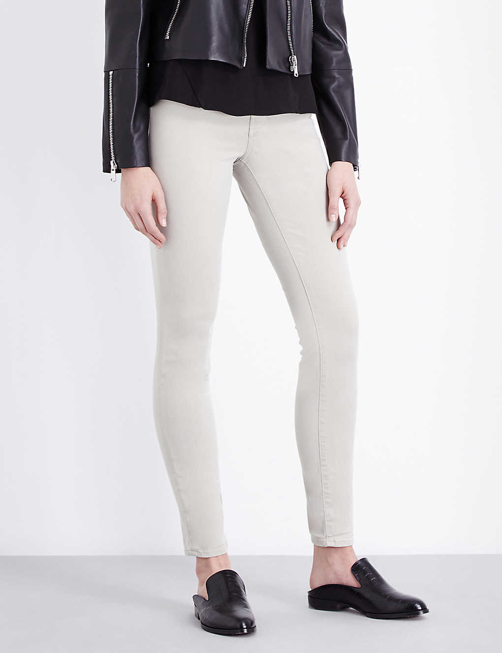 ddc5c5f3580 J BRAND - 485 Luxe Sateen super-skinny mid-rise jeans
