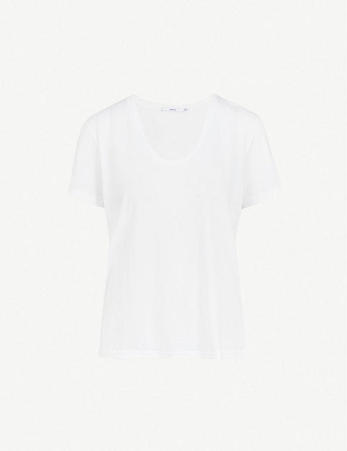 J BRAND Johnny cotton-jersey T-shirt