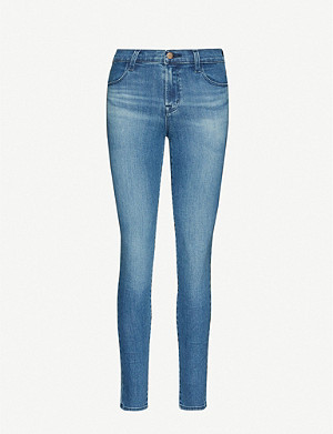 J BRAND Maria slim-fit skinny high-rise jeans