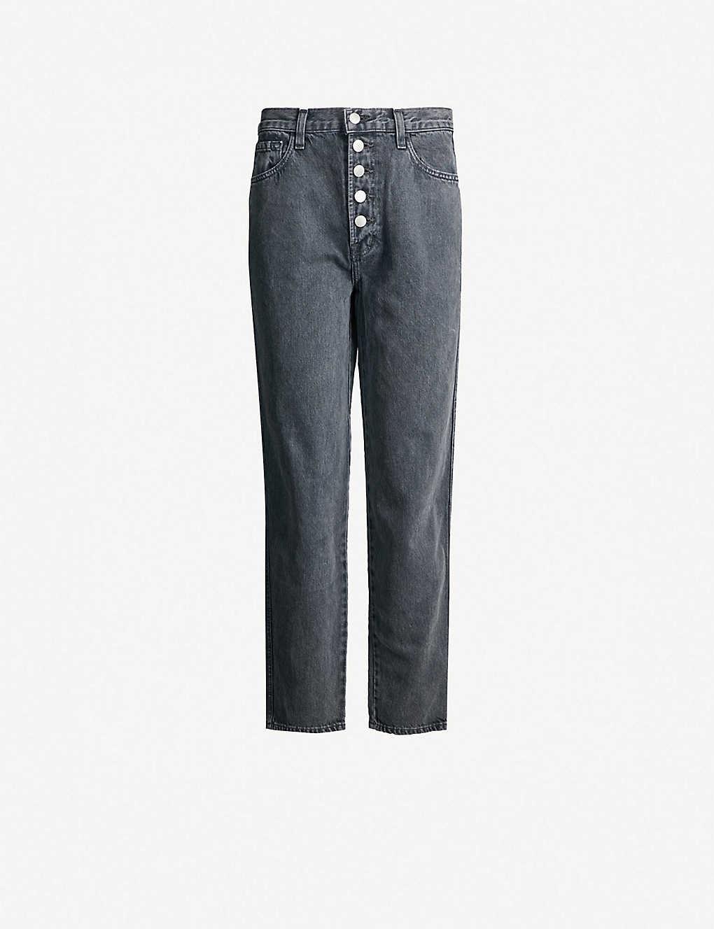 1acaf767 J BRAND - Heather mid-rise straight jeans   Selfridges.com