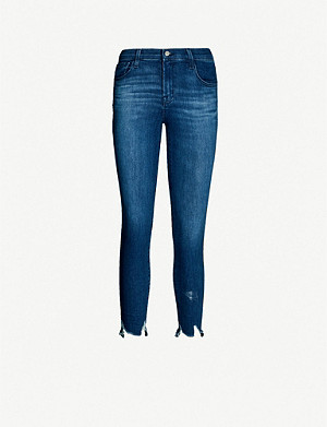 J BRAND 835 cropped skinny mid-rise jeans