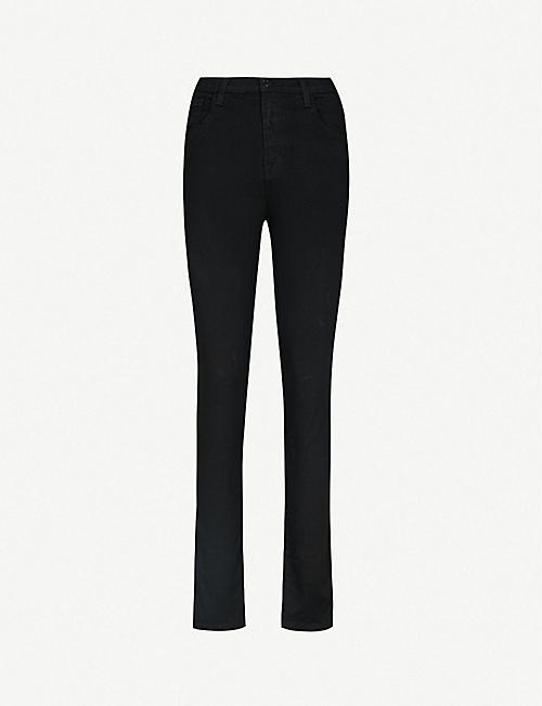 cf73f97dc179 J BRAND Ruby slim-fit cigarette cropped high-rise jeans