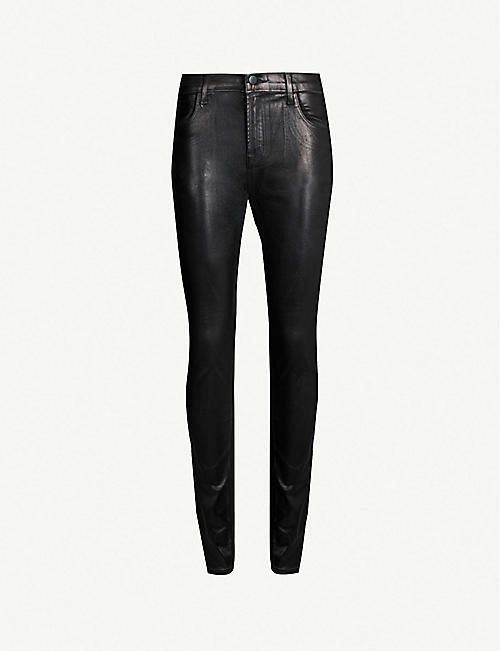 Skinny Brand gran altura J Jeans piel de de Maria sintética qEdwdHU